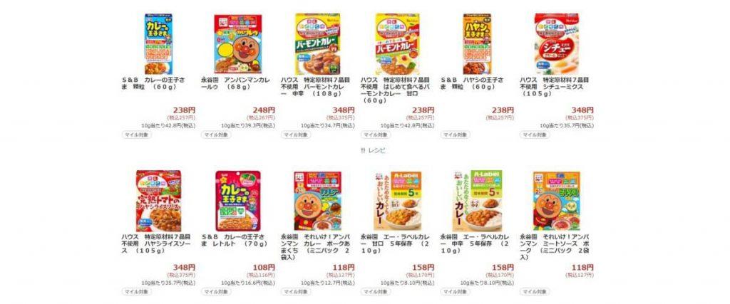 ネットスーパーの商品価格について