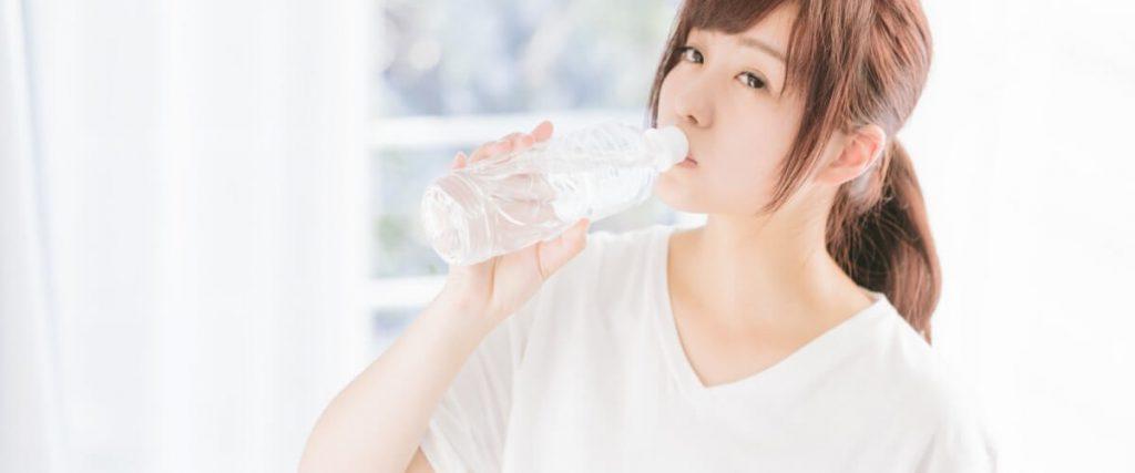 対策3:こまめに水分補給をしましょう